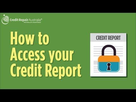 How to access your credit report