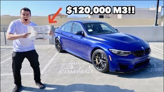 TAKING DELIVERY OF THE MOST EXPENSIVE BMW M3 IN THE US!