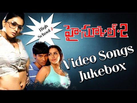 High school 2 Movie Video Songs Jukebox  || Namitha, Raj Karthik