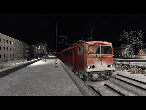 Silver medal for the hardest mission. A Bonn-Bad Day for Freight. DB BR155. Train Simulator 2016