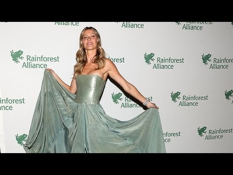 Gisele Bündchen Makes Even Hemp Look Good! | Fashion Flash