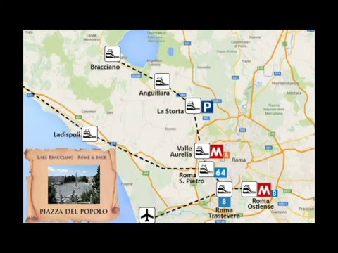 Enjoying Rome from the lakes: how to visit Rome by public transport from Lake Bracciano (tutorial)