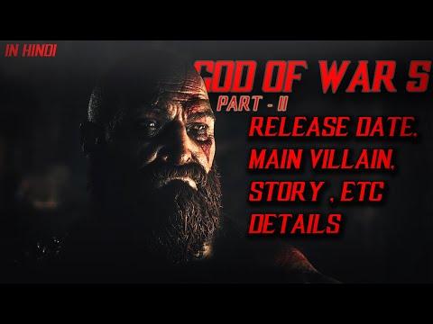God Of War 5 : Latest Details | Release Date, Story, Main Villain, ETC -  Gaming Generation