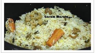 Vegetable Biryani Kerala Style By Garam Masala