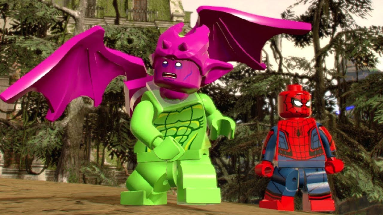 LEGO Marvel Super Heroes 2 - Open World Tour (All 18 Areas of Chronopolis)