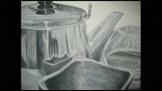Kettle Painting using Grisaille Method