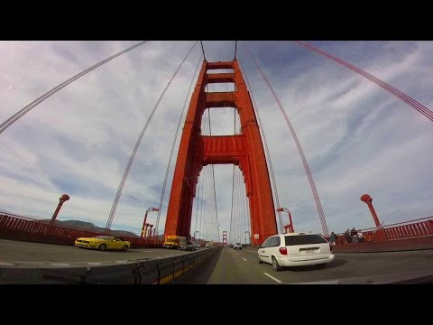A San Francisco Experience: Driving Over the Golden Gate Bridge