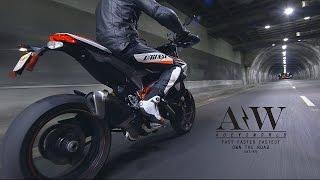 Ducati Hypermotard SP Ripping Thru DTLA in 4K!!