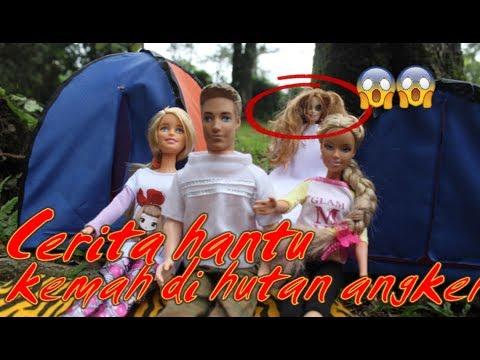 ????Cerita horor????Kemah di hutan angker ????drama dongeng anak boneka barbie