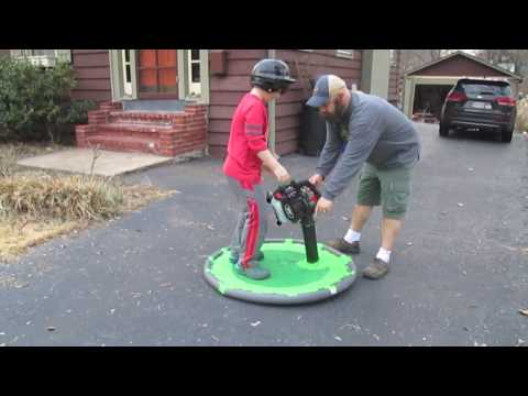 How to make a Hover Craft with Leaf Blower