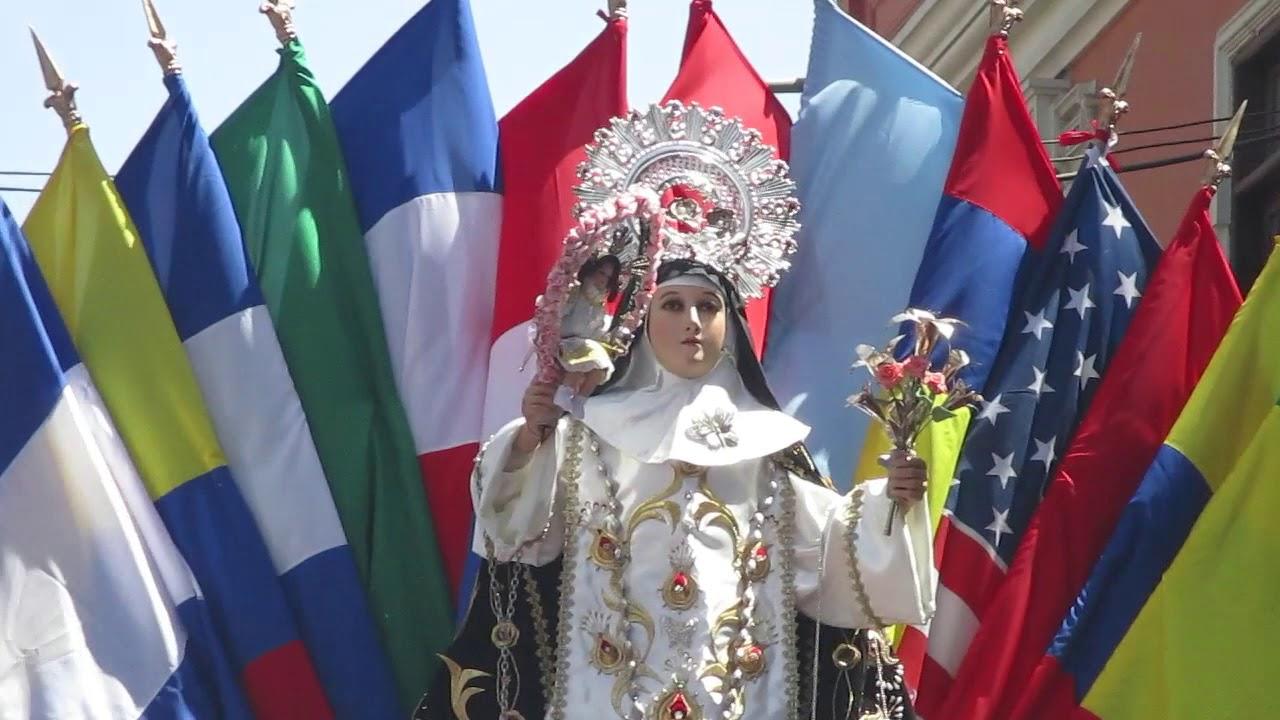 Santa Rosa de Lima Agosto 30 Arequipa 2017 - YouTube