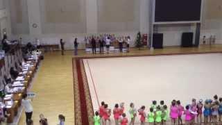 Команда Классика. Грация. Самара. Церемония награждения  2013-12-27 13:42