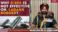 Why Chinese S400 is not effective on Ladakh Border during India China fight against Su-30MKI?