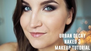 Makeup Tutorial: Urban Decay Naked 3 Palette - Violet Hues