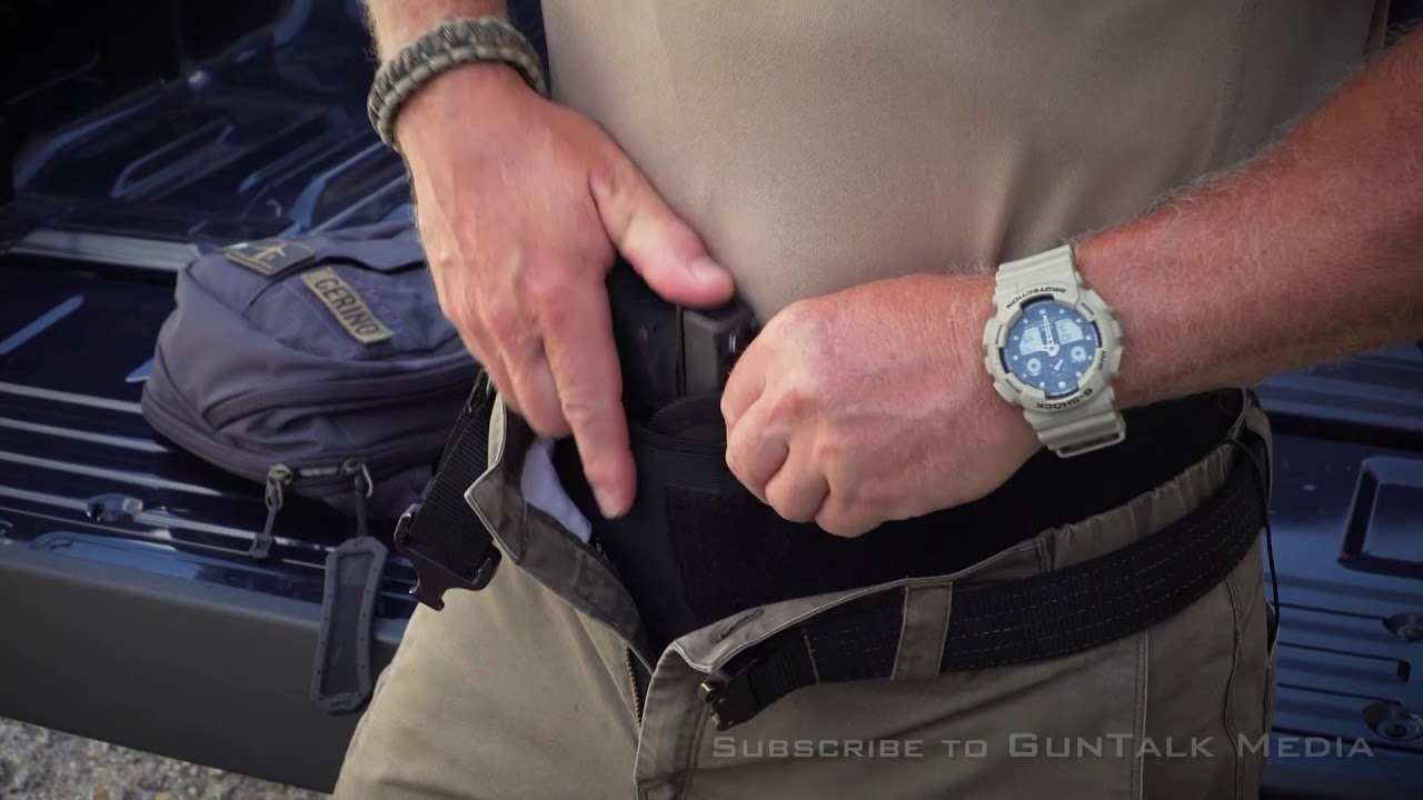 Using a Belly Band to Appendix Carry|First Person Defender: S5 Bonus