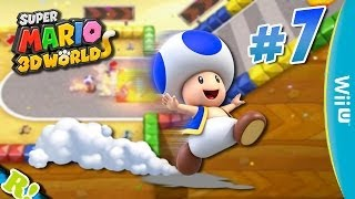 Super Mario 3D World ✰ #7: Ultra Toad velocity! xD