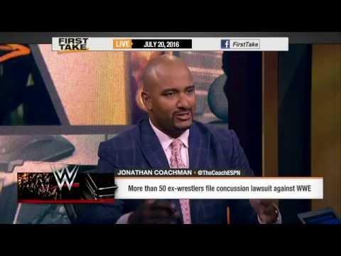 ESPN First Take - Jonathan Coachman - 7/20/2016