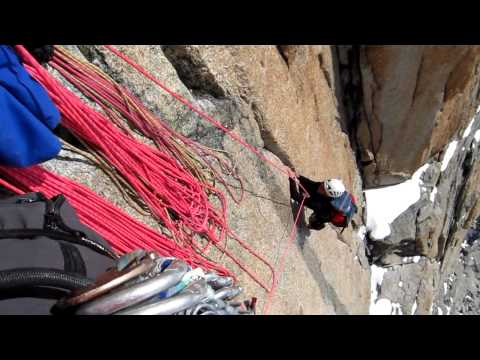 Grand Capucin, Swiss Direct (TD+, VII, 300 m)
