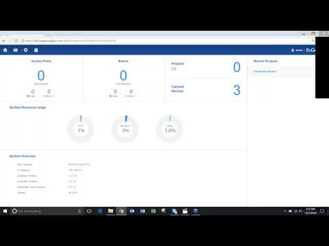 Network Management Software EzMaster - Creating Projects