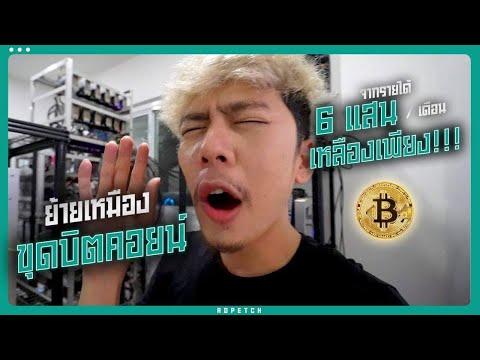 ย้ายเหมืองขุด Bitcoin