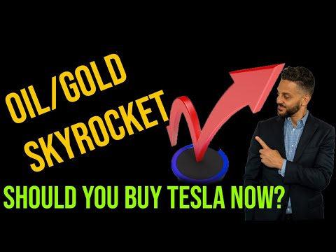 BITCOIN Stuck Again | Oil/gold Skyrocket | Too Late To Buy Tesla?