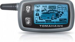 Программирование брелка (запись) Tomahawk 9030 ДимАСС