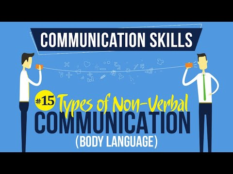 Types Of Nonverbal Communication (Body Language) - Introduction To Communication Skills