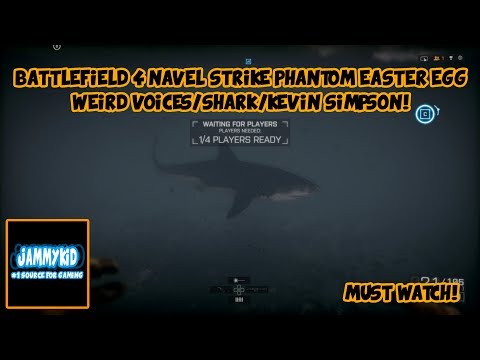 PS4 BATTLEFIELD 4 NAVEL STRIKE/PHANTOM EASTER EGG / GHOST VOICE AND SHARK