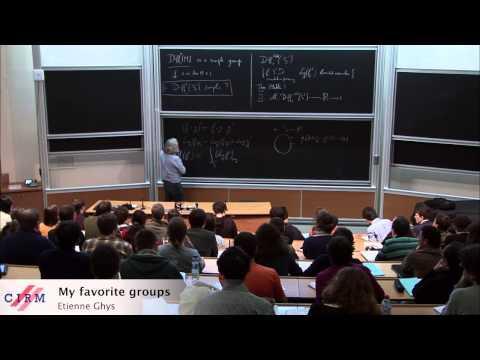 Etienne Ghys: My favorite groups