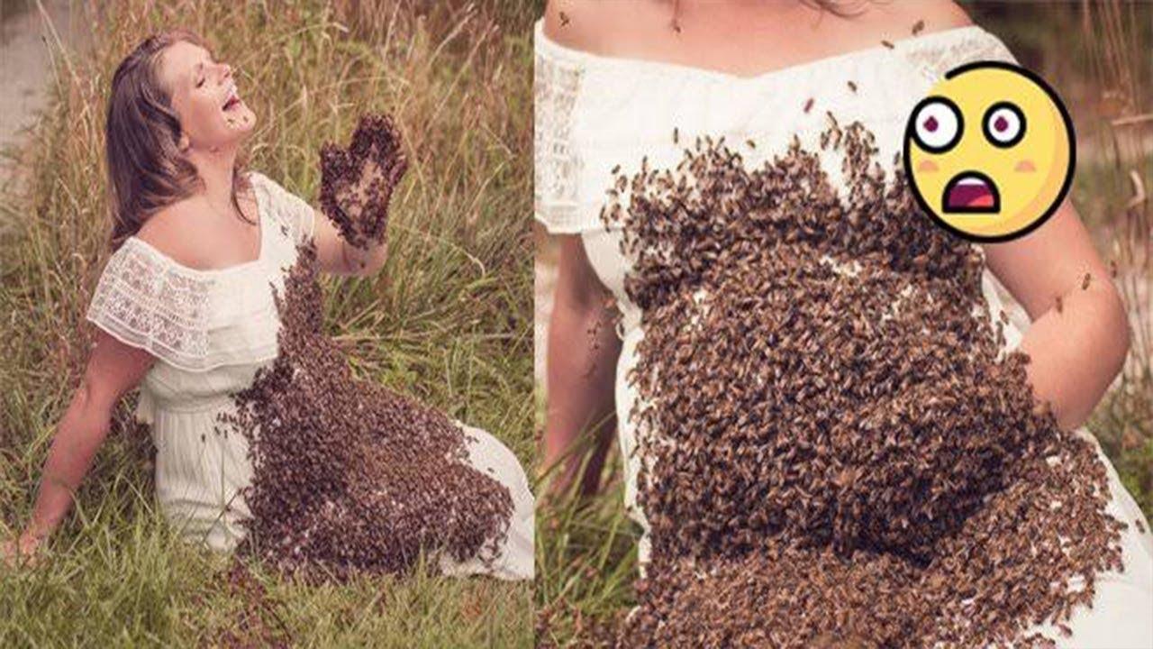 Hamile Kadın Arılarla Fotoğraf Çektirdi, Doğumdan 6 Gün Önce Acı Haberi Aldı