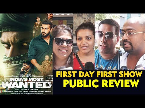 india's-most-wanted-public-review-|-first-day-first-show-|-arjun-kapoor