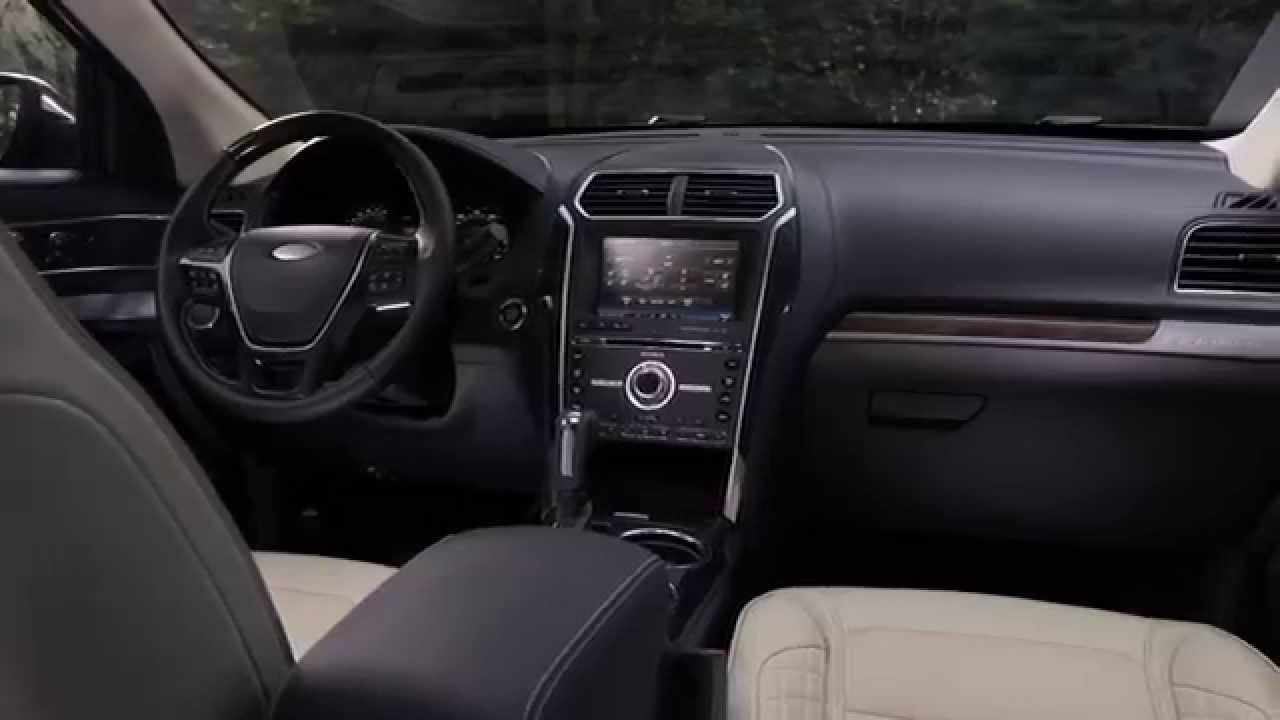 2016 ford explorer interior youtube