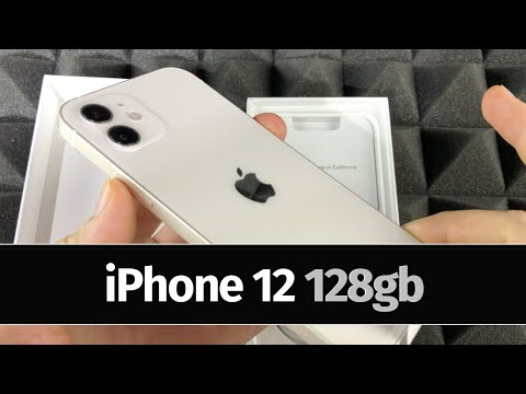 iPhone 12 128gb White Unboxing