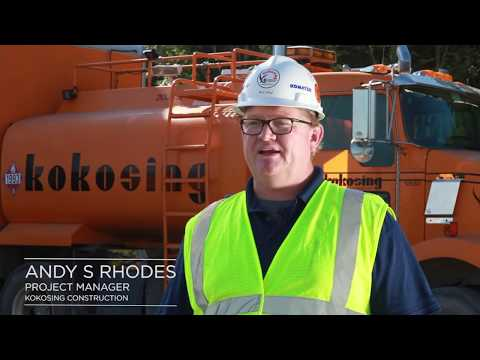 Kokosing Heavy Contracting / Mass Excavation Drone Mapping Case Study
