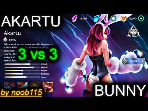 Heroes of O&C: Cat [Akartu] Gameplay! 3vs3! My Kitty is OP!