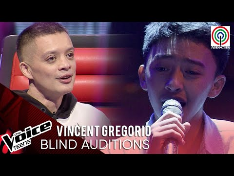 Vincent Gregorio - Kay Tagal | Blind Audition | The Voice Teens Philippines 2020