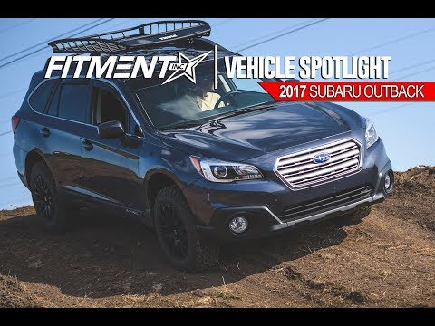 Lifted Subaru Outback- Motegi MR118's - YouTube