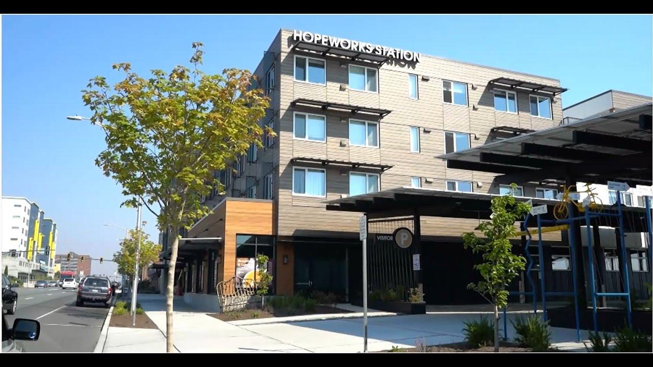 Tour HopeWorks Station - Ultra Green Affordable Housing Building - Workforce Training