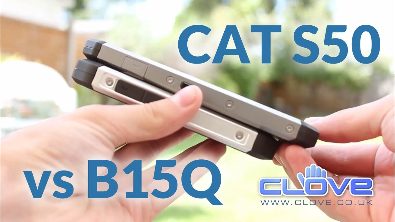 Das Cat S40 Rugged Smartphone im bauhandwerk-Praxistest - YouTube