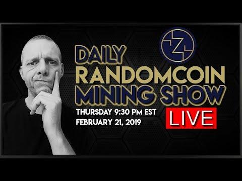 RandomCoin Mining Show LIVE! ⛏ - Zixx (XZX) - NeoScrypt