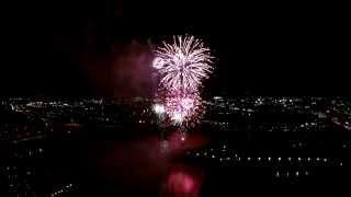Drone Video Fireworks Dayton Ohio 2015