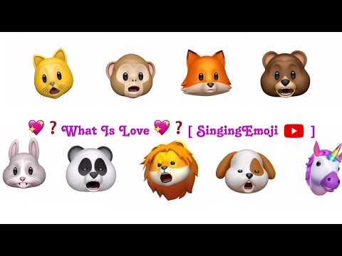 [Animoji Karaoke] Emoji Singing 'What Is Love?' -- TWICE (트와이스)