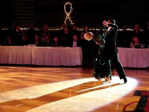 Arunas and Katyusha Tango Show at Harvard Ballroom Competition 2010