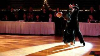 Arunas and Katyusha Tango Show at Harvard Ballroom Competition 2010
