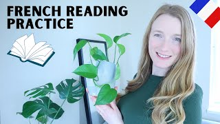 French Reading Practice - Les Plantes | How to read in French