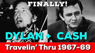 "FINALLY! Bob Dylan and Johnny Cash sessions released on ""Travelin' Thru"" Bootleg Series Vol 15!"