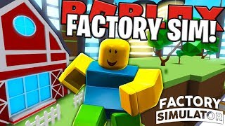 EPIC GOLD MACHINES - FACTORY SIMULATOR IN ROBLOX TYCOON