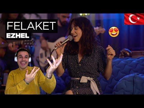 Italian React 🇹🇷 Zeynep Bastık – Felaket Akustik (Ezhel Cover)