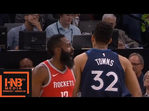 Minnesota Timberwolves vs Hous rockets