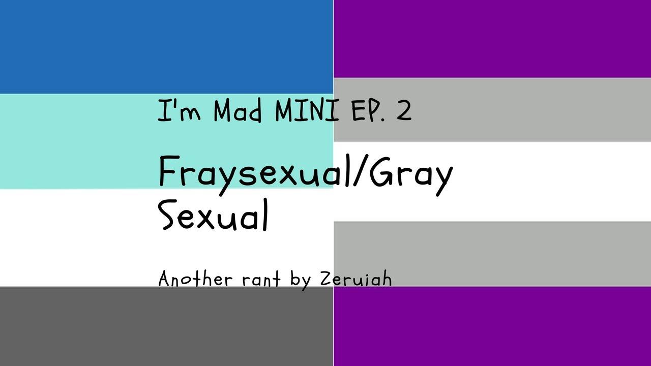 Graysexual define